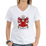 Scudamore Family Crest Women's V-Neck T-Shirt