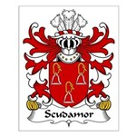 Scudamore Family Crest Small Poster