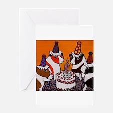 GUINEA PIG-lko19~Birthday Par Greeting Card