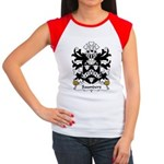 Saunders Family Crest Women's Cap Sleeve T-Shirt