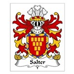 Salter Family Crest Small Poster