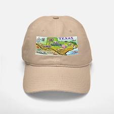 Texas Khaki Baseball Baseball Cap