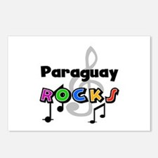Paraguay Rocks Postcards (Package of 8)