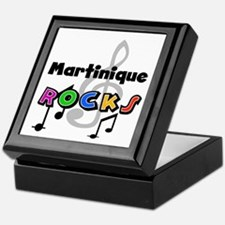 Martinique Rocks Keepsake Box