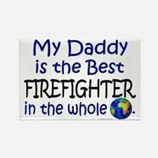Best Firefighter In The World (Daddy) Rectangle Ma