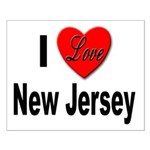 I Love New Jersey Small Poster