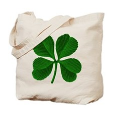Luck of the Irish Four Leaf Clover Tote Bag