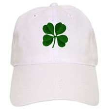 Luck of the Irish Four Leaf Clover Baseball Cap