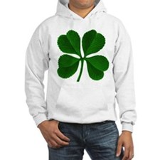 Luck of the Irish Four Leaf Clover Hoodie