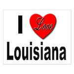 I Love Louisiana Small Poster