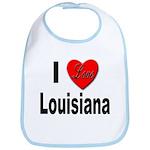 I Love Louisiana Bib