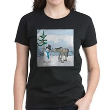 Snowman And Horse Tee