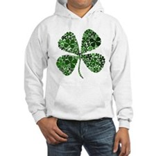 Extra Lucky Four Leaf Clover Hoodie