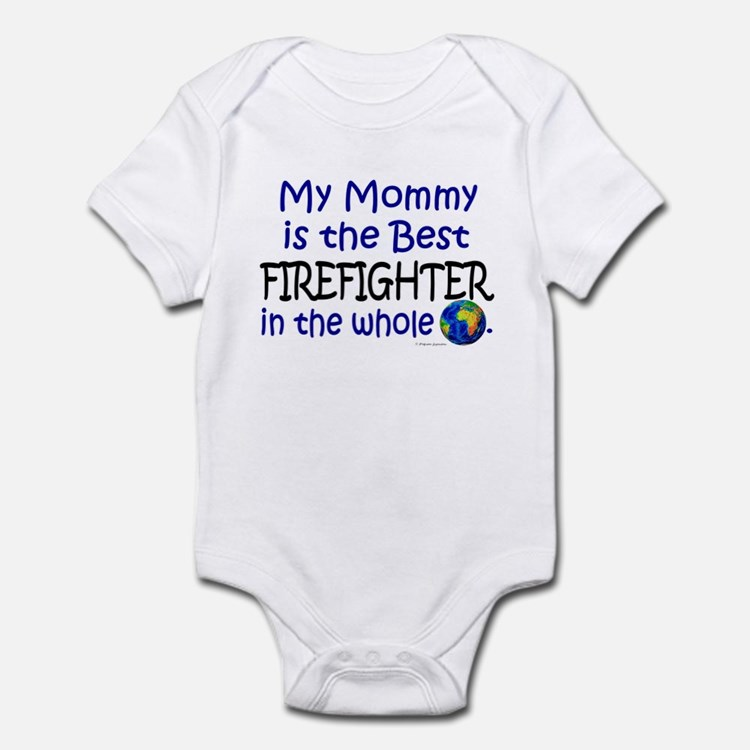 Firefighter Mom Baby Clothes & Gifts