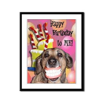 Happy Birthday Framed Panel Print