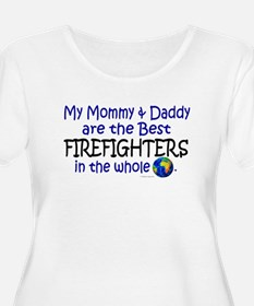 Best Firefighters In The World T-Shirt