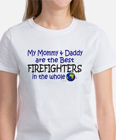 Best Firefighters In The World Tee