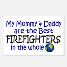 Best Firefighters In The World Postcards (Package