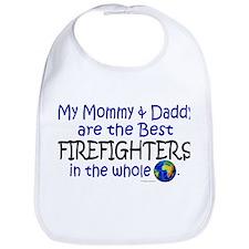 Best Firefighters In The World Bib