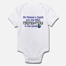 Best Firefighters In The World Infant Bodysuit