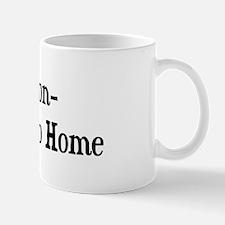 Percheron Go Big Or Go Home Mug