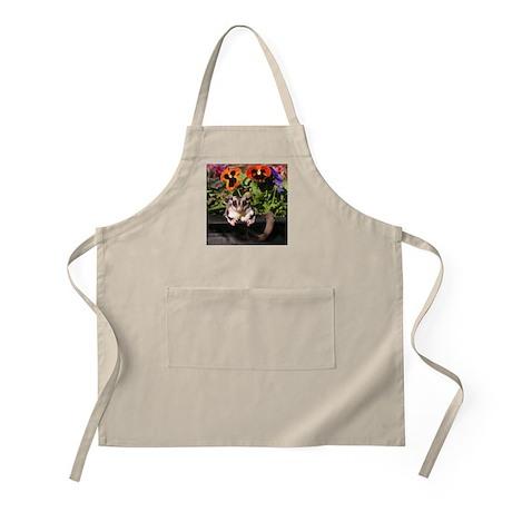 Flowers #3 BBQ Apron