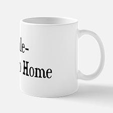 Clydesdale Go Big Or Go Home Mug