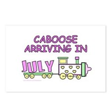 DUE IN JULY Postcards (Package of 8)