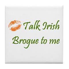 Irish Brogue Tile Coaster