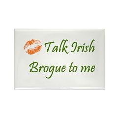 Irish Brogue Rectangle Magnet