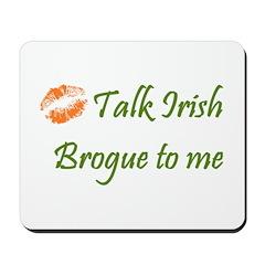 Irish Brogue Mousepad