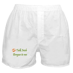 Irish Brogue Boxer Shorts