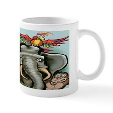 Cute Worker in a zoo Mug
