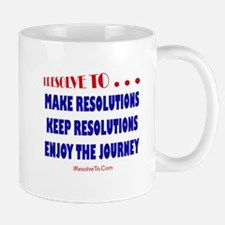 Funny New year resolutions Mug