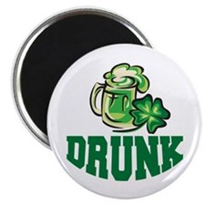 "Irish Drunk 2.25"" Magnet (10 pack)"