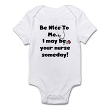 Nurse-Be Nice to Me Infant Bodysuit