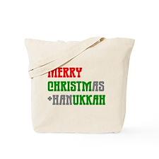 """""""Merry Christmukkah"""" Tote Bag"""