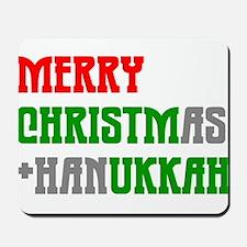 """Merry Christmukkah"" Mousepad"