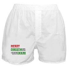 """Merry Christmukkah"" Boxer Shorts"