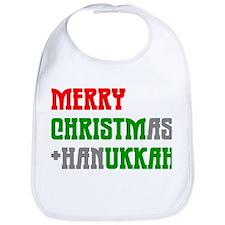 """Merry Christmukkah"" Bib"