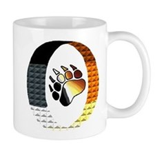 BEAR PRIDE PAW/ENCASED Mug