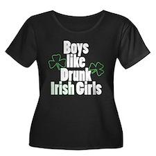 Drunk Irish Girls T
