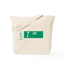 7th Avenue in NY Tote Bag
