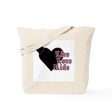 Live Love Ride - Tote Bag