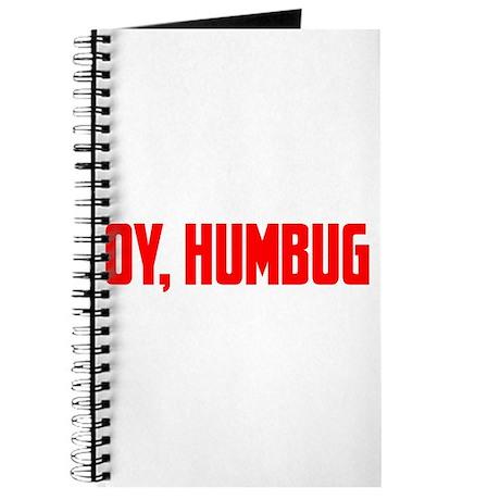 """""""Oy, Humbug"""" Journal"""