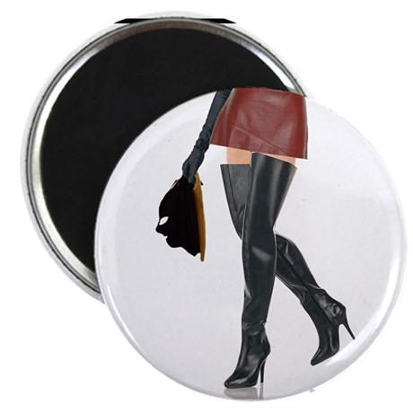 """Dominatrix with Hood 2.25"""" Magnet (10 pack)"""