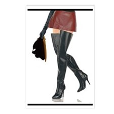 Dominatrix with Hood Postcards (Package of 8)