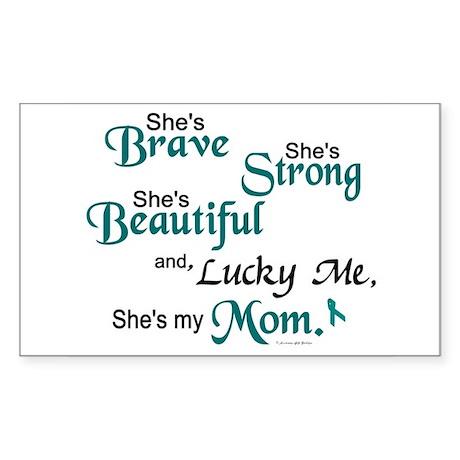 Lucky Me 1 (Mom OC) Rectangle Sticker