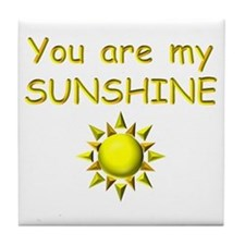 SUNSHINE Tile Coaster