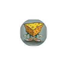 Cute Cheese head Mini Button